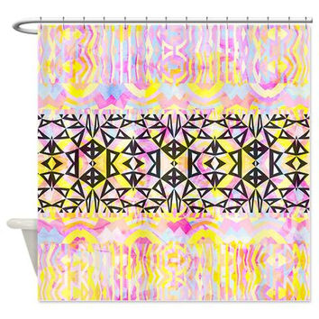 Shower Curtain - Mix #563 - Ornaart Design