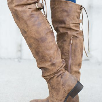 Janet Boots (Tan)