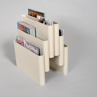 Giotto Stoppino • 4675 magazine rack • Kartell | D-68 design+art
