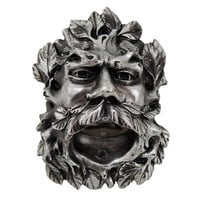 Cool Celtic Green Man Wall Mounted Bottle Opener