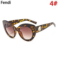 Fendi Fashion New Polarized Couple Travel Personality Sunscreen Glasses Eyeglasses 4#