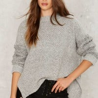 Knit Can Happen Oversized Sweater