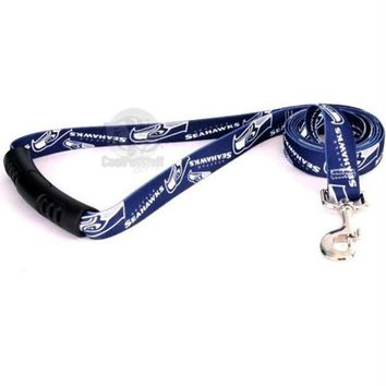 LMFON Seattle Seahawks EZ Grip Nylon Leash