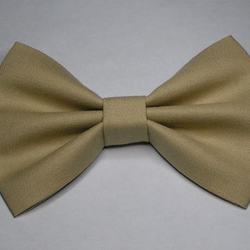Nude color Fabric hair Bow,Teens bows, kids bows, women size bows,Fabric bows, baby