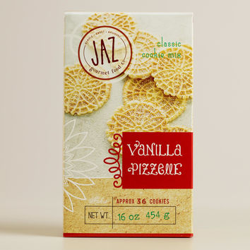 JAZ Vanilla Pizzelle Cookie Mix, Set of 2 - World Market