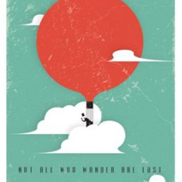 Not All Who Wander Are Lost, Posters