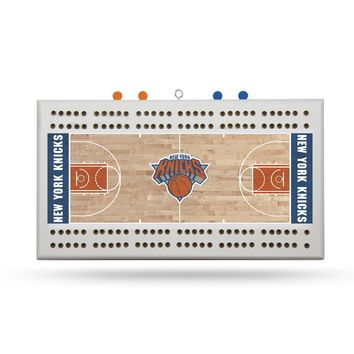 NEW YORK KNICKS FIELD CRIBBAGE BOARD