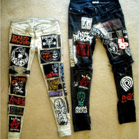Patched Punk Pants (Personal Example)