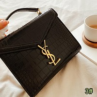 YSL Fashion Women Shopping Bag Leather Handbag Tote Crossbody Satchel Shoulder Bag