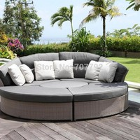 2017 Sofa Furniture cheap outdoor wicker furniture rattan sofa