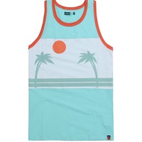 AMBSN Paradise Tank Top - Mens Tee - Green