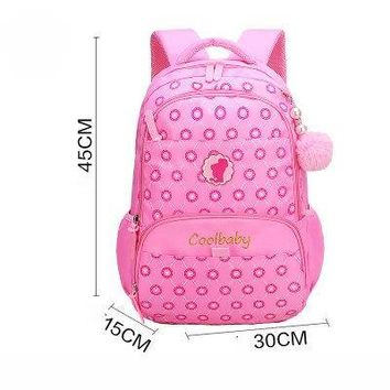 School Backpack GUMST New Lovely School Bags for Teenage Girls Waterproof Primary  Fashion Student Book Bag Children Backpacks AT_48_3