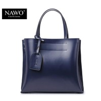 NAWO Women Shoulder Bags Shopping Famous Brand Luxury Women Designer Handbags High Quality Brand Leather Tote Bag For Women