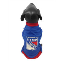 New York Rangers Official NHL Dog Mesh Jersey