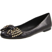 Vince Camuto Women`s VC-Osterns Flat,Black,8 M US