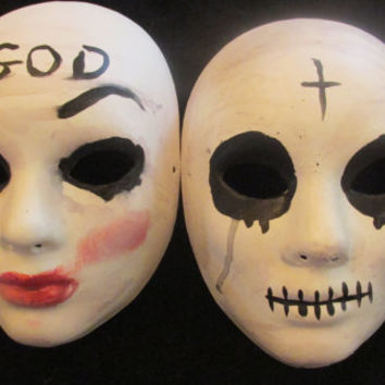 The Purge: Anarchy mask. The Purge God Mask. Men's mask. Man's mask