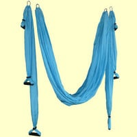 660 Lb Deluxe Flying Yoga Swing Hammock Aerial Yoga AntiGravity Inversion Strap
