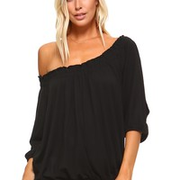 Stephanie Peasant Top