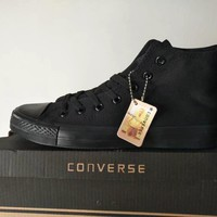 Converse Chuck Taylor All Star Unisex Sport Casual High Help Shoes Canvas Shoes Couple Classic Cloth Shoes