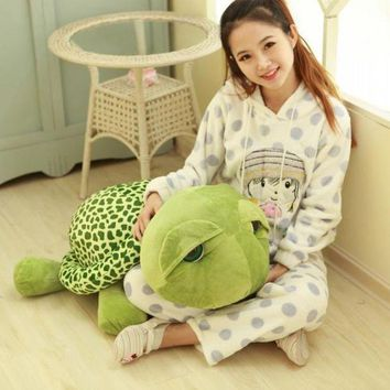VONFC9 35 cm Cute sell Meng Turtle Plush play toy Gifts Soft Animal Doll toys for children