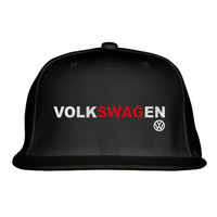 Volkswagen SWAG  Embroidered Snapback Hat