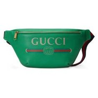 Gucci - Gucci Print leather belt bag