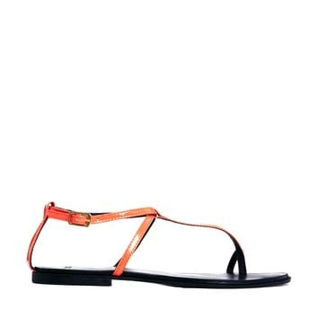 ASOS FOOTLOOSE Leather Flat Sandals