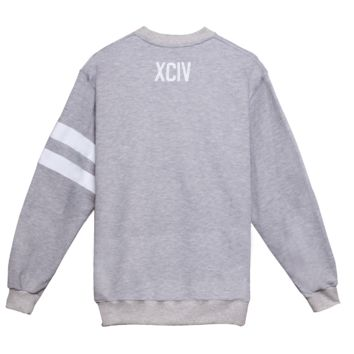 XCIV LOGO SWEATER GRAY | GCDS - In goal we trust