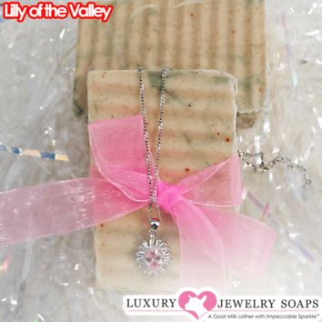 Lily of the Valley Luxury Jewelry Soaps
