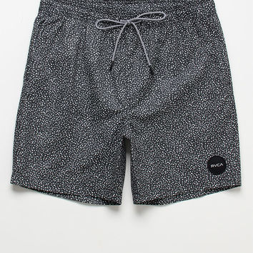 "RVCA Speckled Elastic 17"" Swim Trunks at PacSun.com"