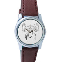 Cloud Of Thoughts Wrist Watch