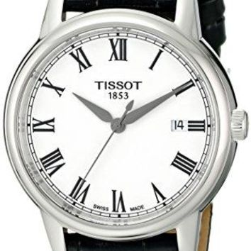 Tissot Men's T0854101601300 Carson Analog Display Swiss Quartz Black Watch