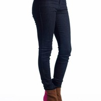 high waisted skinny jeans $36.80 in DKBLUE - Jeans | GoJane.com