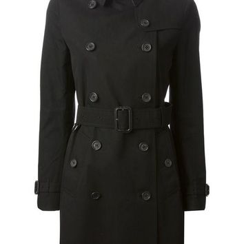ICIKIN3 Burberry London double breasted trench coat