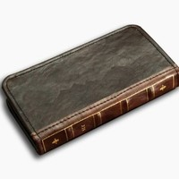 Apple Cellphone Case Protective Case Cover Pu Leather Bible Book Wallet Case for Iphone 4 / Iphone 4s or Iphone 5 /Iphone 6