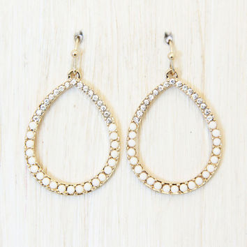 Ivory Pretty Woman Earrings - Earrings