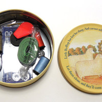 Beginners Sewing Set, Travel Sewing Kit ,Sew Complete in a Tin, Sewing Notions