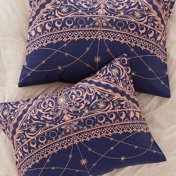 Celestial Foiled Sham Set - Urban Outfitters