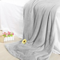 Soft Solid Plush Fleece Throw Blanket for Bedding Twin/Full/Queen - Walmart.com