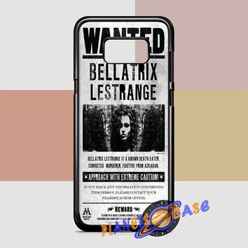 Bellatrix Lestrange Wanted Harry Potter Movies Samsung Galaxy S8 Case Planetscase.com