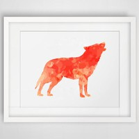 Vintage Fox Canvas Art Print Painting Poster, Wall Pictures For Home Decoration wall art decor, FA240-5