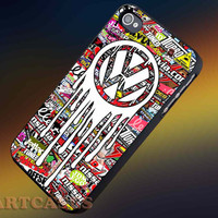 Dropping vw Logo iphone 4/4s case, iphone 5/5s,iphone 5c, samsung s3 i9300 case, samsung s4 i9500 case in SmartCasesStore.