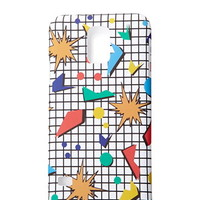 Abstract Grid Samsung Galaxy S5 Case