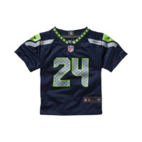 Nike NFL Seattle Seahawks (Marshawn Lynch) Infant Kids' Football Home Game Jersey
