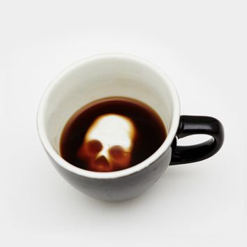 Hidden Skull Coffee Mug