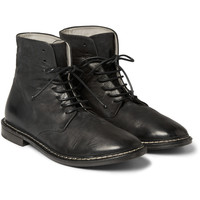 Marsell - Washed-Leather Boots | MR PORTER