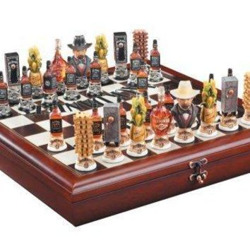 Jack Daniel's Chess Set by M. Cornell