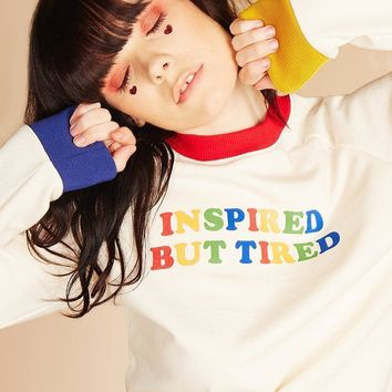 Inspired but Tired Sweatshirt