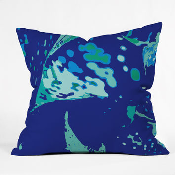 Rosie Brown Del Mar Throw Pillow