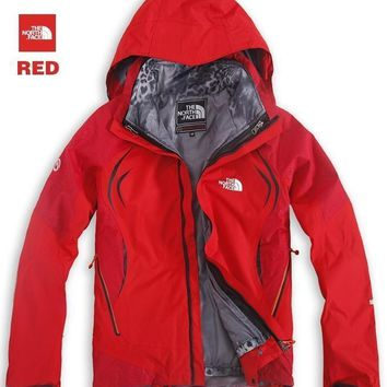 The North Face Leopard hood outdoor jackets men